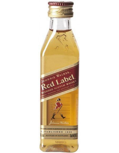 Whisky Red Label Johnnie Walker MIGNON