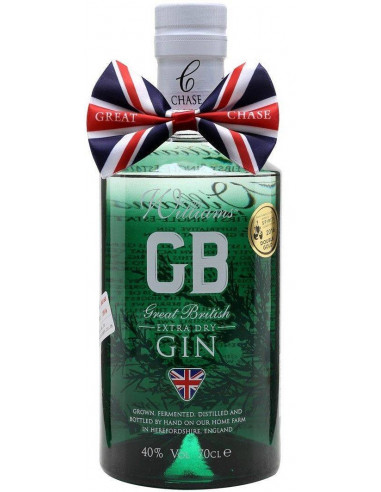 Gin Williams GB Chase Distillery