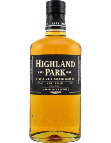 Whisky 10 anni Ambassador's Choice Highland Park