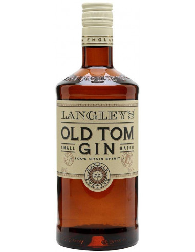 Gin Old Tom Langley's