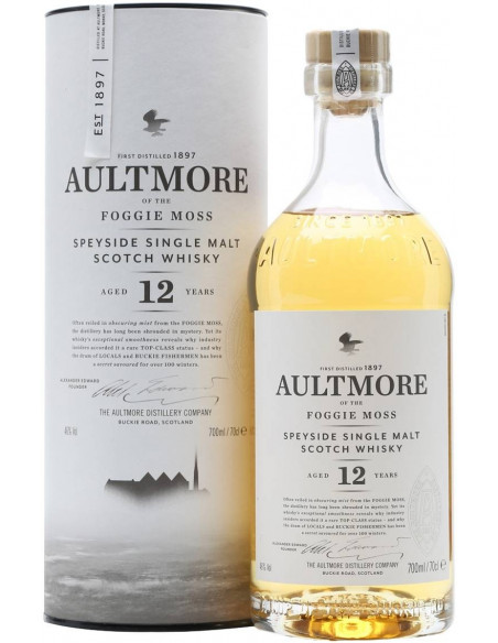 Whisky 12 anni Aultmore