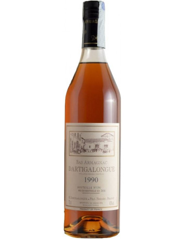 Bas Armagnac AOC Dartigalongue 1990