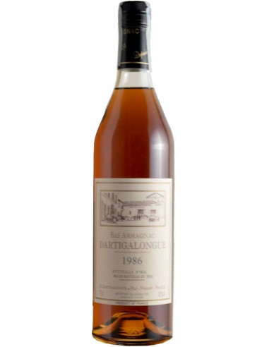 Bas Armagnac AOC Dartigalongue 1986