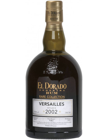Rum El Dorado Rare Collection Versailles Demerara Distillers
