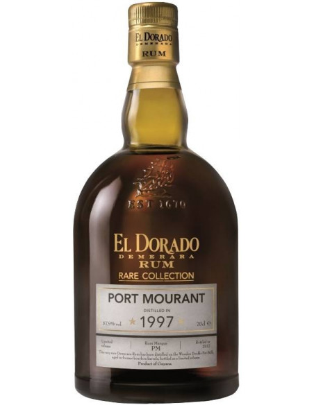 Rum El Dorado Rare Collection Port Mourant Demerara Distillers