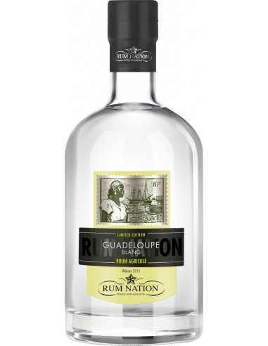 Rum Guadeloupe Blanc Agricole Rum Nation