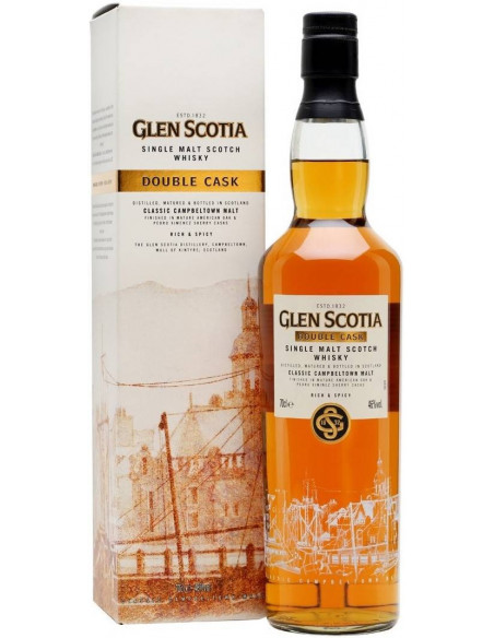 Whisky Double Cask Glen Scotia
