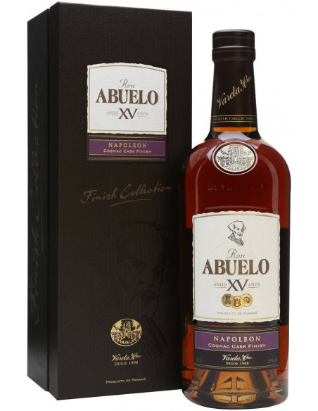 Rum Finish Collection Napoleon 15 anni Abuelo