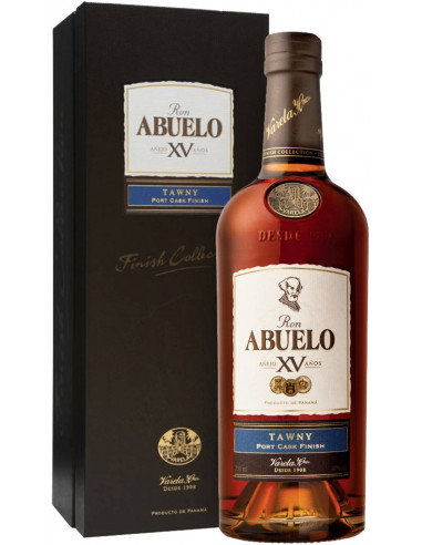 Rum Finish Collection Tawny 15 anni Abuelo