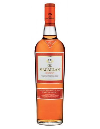 Single Malt Wisky Sienna The Macallan
