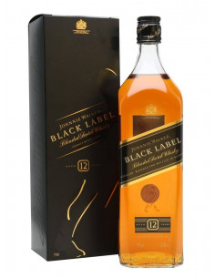 Johnnie Walker Black Label Blended Scotch Whisky 12 YO 70cl