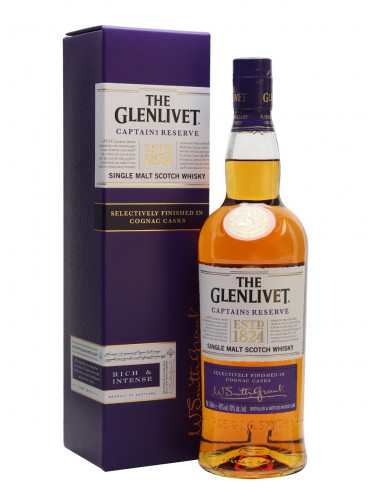 Whisky Captain's Reserve The Glenlivet - Enoteca Telaro